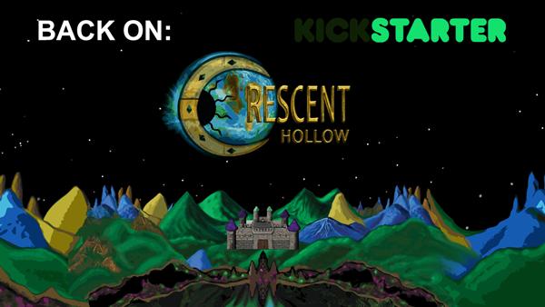 BACK Crescent Hollow on Kickstarter