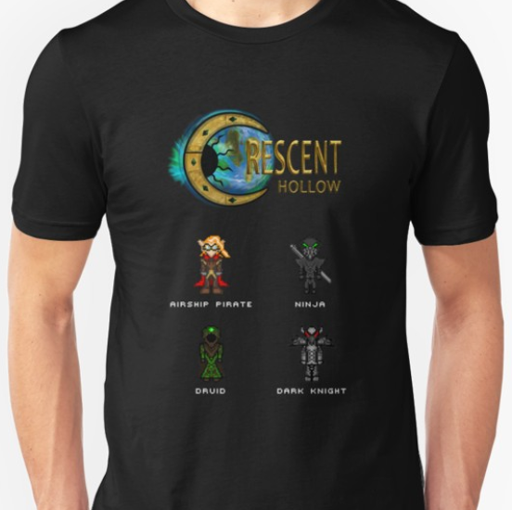 T-Shirt : Crescent Hollow Classes Image